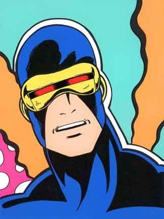 Screenprint Matos - Cyclops