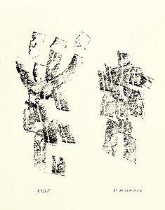 Illustrated Book Michaux - Décisive pliure du ciel