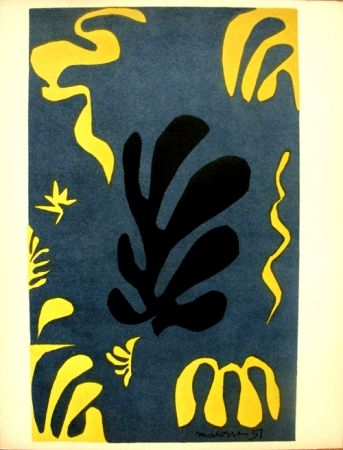 Lithograph Matisse - Découpages pour le XX e  Siecle