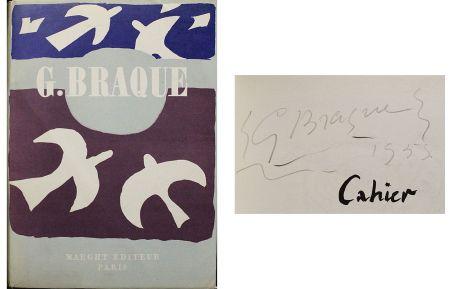 No Technical Braque - Dédicace / dessin pour Cahier de Georges Braque 1917-1947