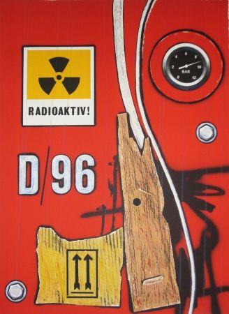 Lithograph Klasen - D 96