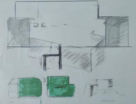 Lithograph Aguilar - Da