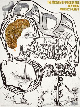 Poster Dali - Dada, Surréalisme et leur héritage