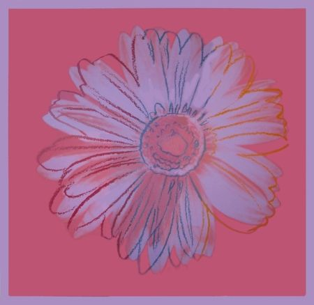 Screenprint Warhol - Daisy, ca