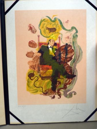 Lithograph Dali - Dali's Dreams