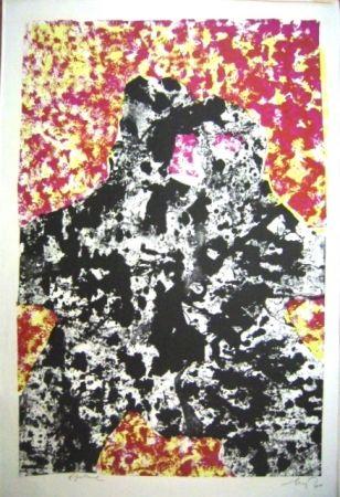 Lithograph Baj - Dalla Materia