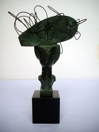 Monotype Valdés - Dame en bronze