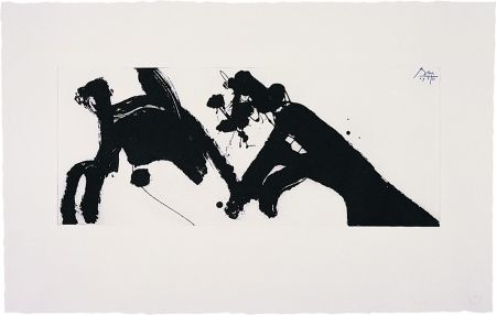 Etching Motherwell - Dance I