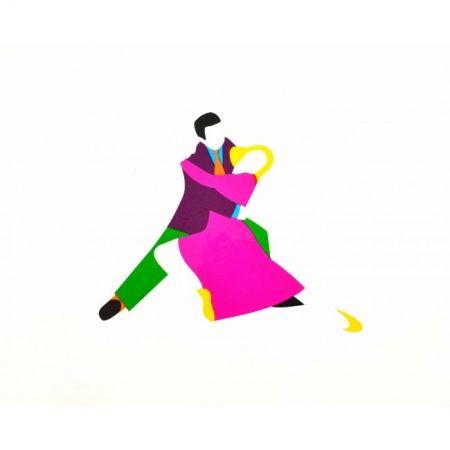Screenprint Lodola - Dancers