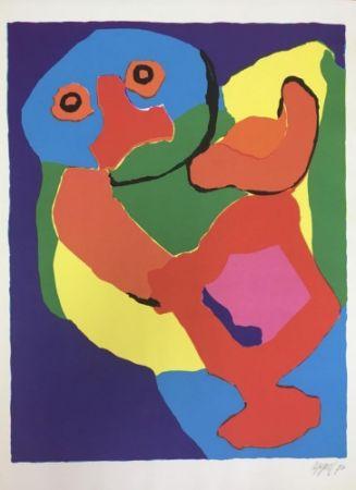 Lithograph Appel - Dancing Man