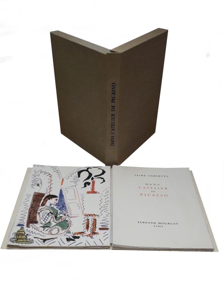 Illustrated Book Picasso - Dans L'atelier De Picasso