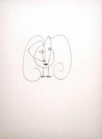 Lithograph Picasso - Dans l'atelier de Picasso