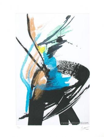 Aquatint Miotte - Dans le vent