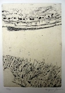 Etching And Aquatint Szenes - Dans le vide qui vient
