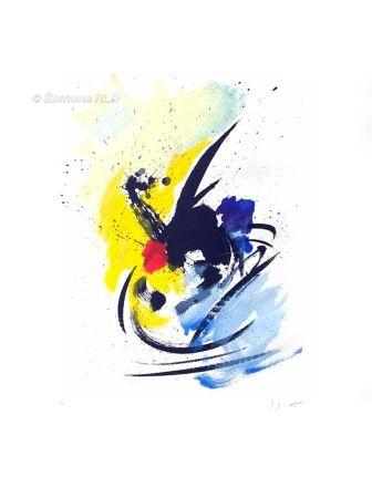 Aquatint Miotte - Danse insolite