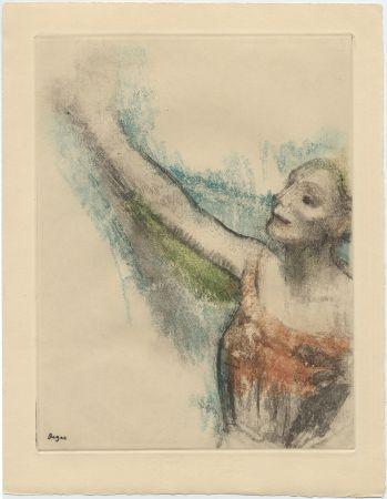 Etching And Aquatint Degas - Danseuse (étude, vers 1878-1880)