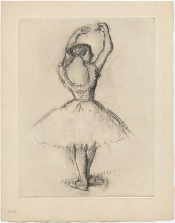 Engraving Degas - Danseuse (étude, vers 1878-1880)