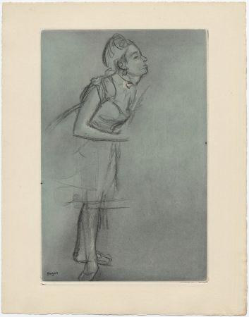 Etching And Aquatint Degas - Danseuse (étude, vers 1878)