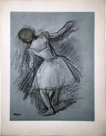 Etching And Aquatint Degas - Danseuse (étude, vers 1890)