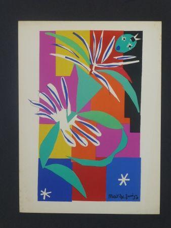 Lithograph Matisse - Danseuse créole, 1950