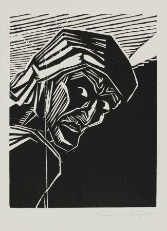 Woodcut Wrage - Dante