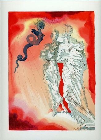 Illustrated Book Dali - Dante : LA DIVINE COMÉDIE. 6 volumes. 100 planches couleurs. (1959)
