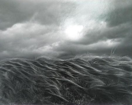 Lithograph Kunita - Dark Cloud