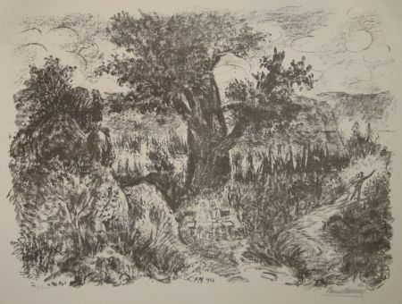 Lithograph Masereel - (Das Alter)