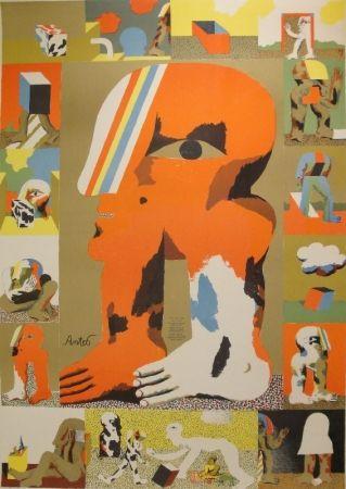Lithograph Antes - Das graphische Werk 1959 bis 1967
