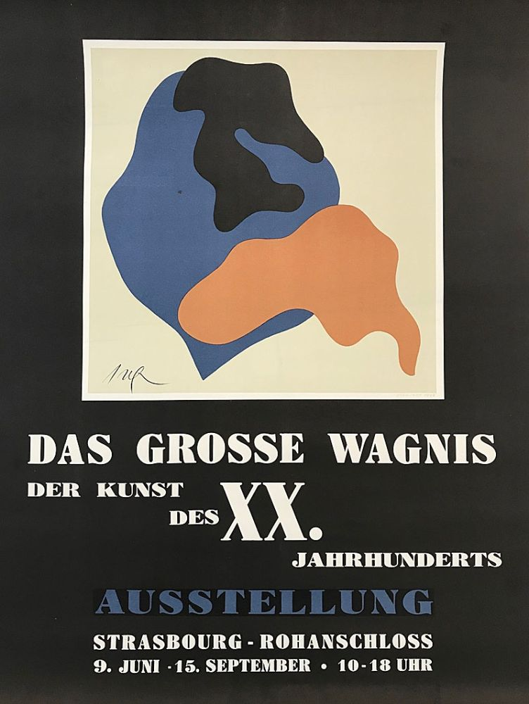 Lithograph Arp - Das Grosse Wagnis