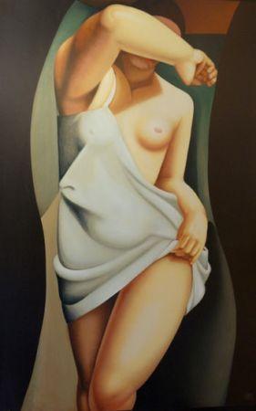 Screenprint De Lempicka - Das Modell