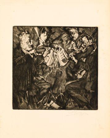 Engraving Oppenheimer - Das Rosè-Quartett