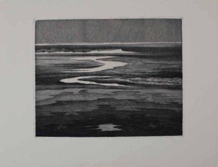 Etching Friedrich - Das Watt / The Wadden