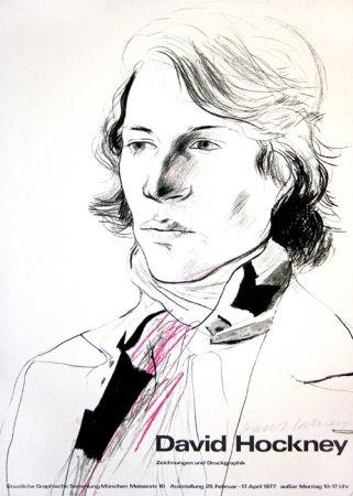 Poster Hockney - David Hockney, Zeichnungen und Druckgraphik