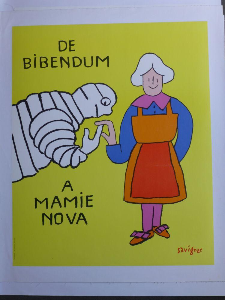 Poster Savignac - De bibendum à mamy nova