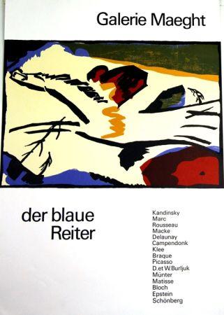 Lithograph Kandinsky - De Blaue Reiter