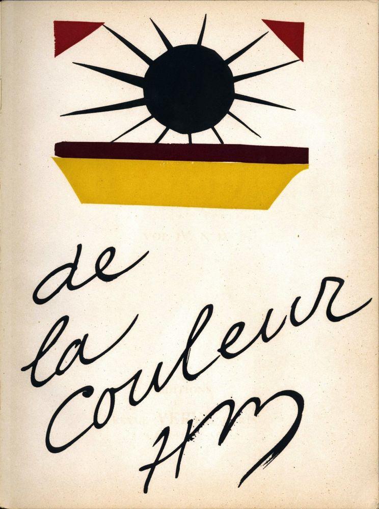 Lithograph Matisse - De la Colour