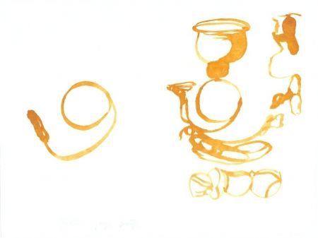 Lithograph Beuys - De la vie des abeilles (Aus dem Leben der Bienen)