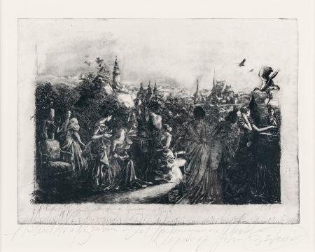 Engraving Borremans - De openbaring van de wereld