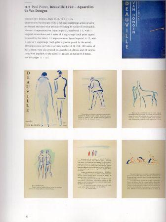 Illustrated Book Van Dongen - Deauville part 1