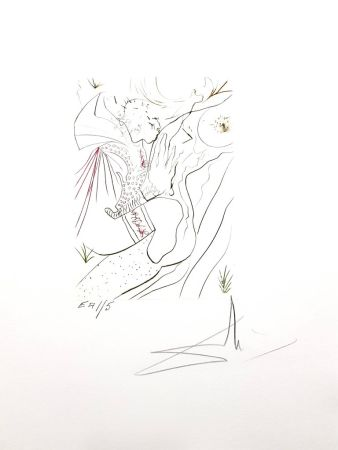 Lithograph Dali - Decameron