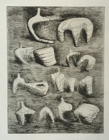 Etching Moore - Deconstructed Figures