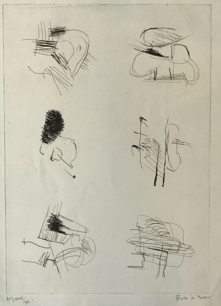 Etching Moore - Deconstructed Figures II