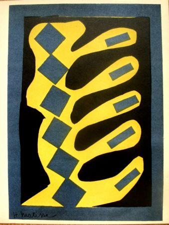 Lithograph Matisse - Decoupages pour le XXe  Siecle