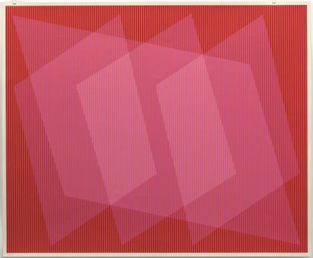 Screenprint Stanczak - Dedicated, from Twelve Progressions