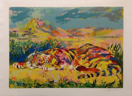 Screenprint Neiman - DELACROIX'S TIGER