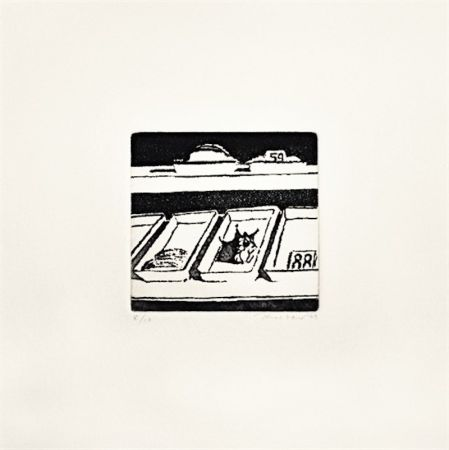 Etching And Aquatint Thiebaud - Delicatessen Trays