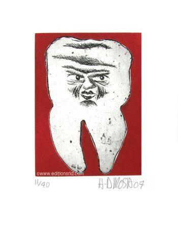 Engraving Di Rosa - Dent N°22