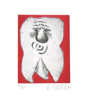Engraving Di Rosa - Dent N°25