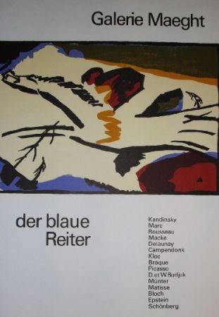 Poster Kandinsky - Der Blaue Reiter